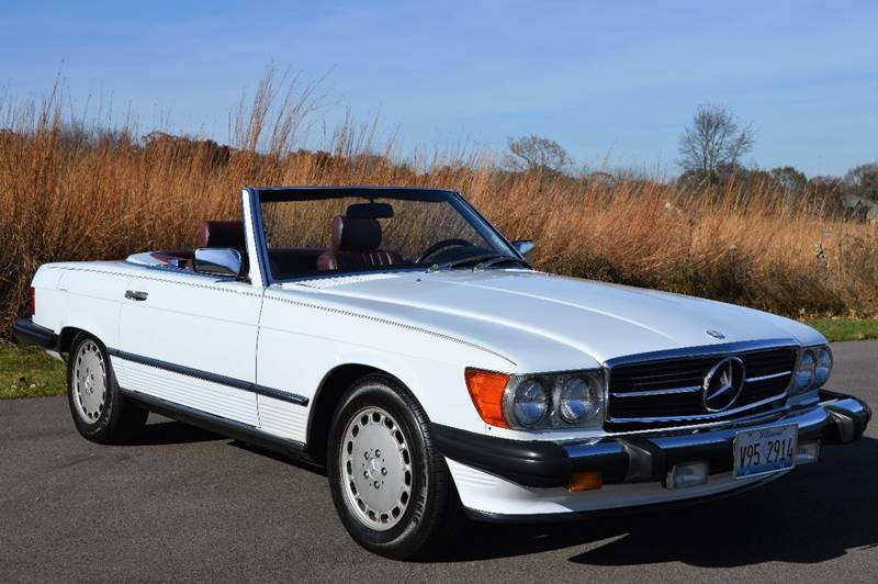 1988 Mercedes-Benz 560-Class for sale at Manfreds Import Auto in Cary IL