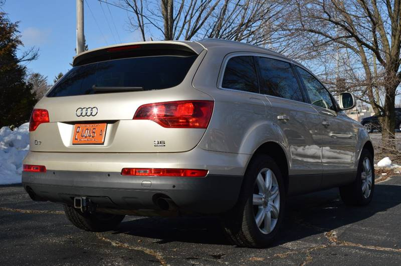 2008 Audi Q7 for sale at Manfreds Import Auto in Cary IL