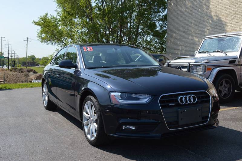 2013 audi a4 2 0t quattro premium plus in cary il manfreds import auto. Black Bedroom Furniture Sets. Home Design Ideas
