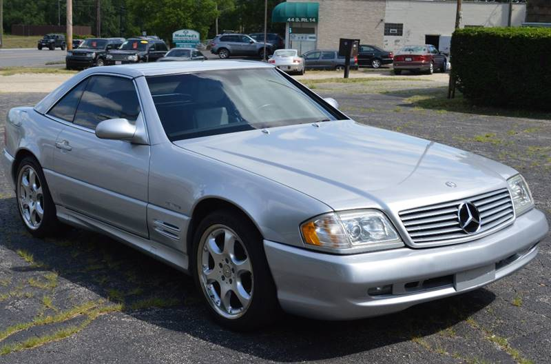 2002 Mercedes-Benz SL-Class for sale at Manfreds Import Auto in Cary IL