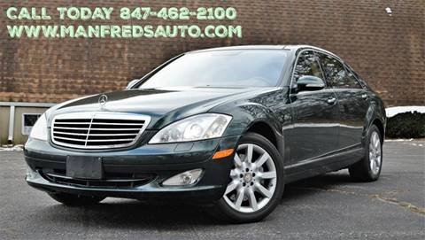 2008 Mercedes-Benz S-Class for sale at Manfreds Import Auto in Cary IL