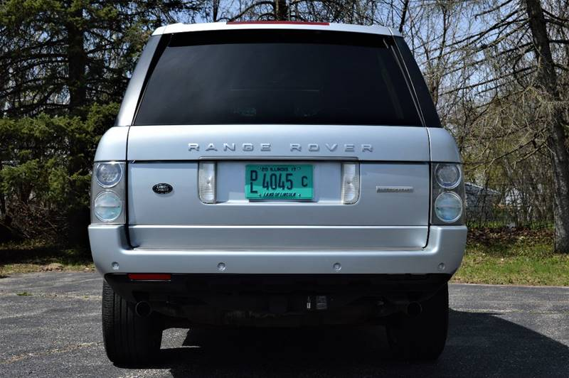 2009 Land Rover Range Rover for sale at Manfreds Import Auto in Cary IL
