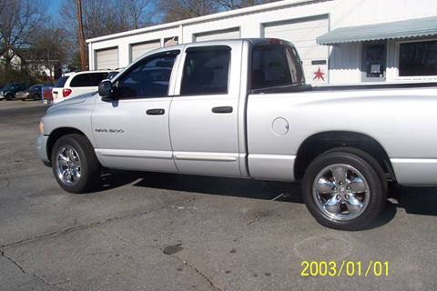 2004 Dodge Ram Pickup 1500 for sale at Blackwood's Auto Sales in Union SC