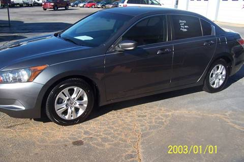 2010 Honda Accord for sale at Blackwood's Auto Sales in Union SC