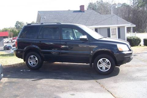 2003 Honda Pilot for sale at Blackwood's Auto Sales in Union SC