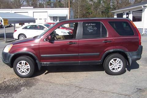 2002 Honda CR-V for sale at Blackwood's Auto Sales in Union SC