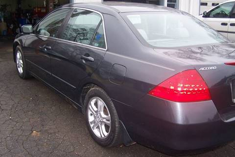 2007 Honda Accord for sale at Blackwood's Auto Sales in Union SC
