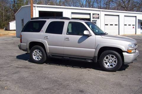 2005 Chevrolet Tahoe for sale at Blackwood's Auto Sales in Union SC