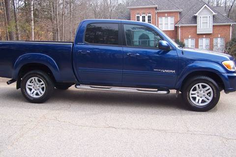 2005 Toyota Tundra for sale at Blackwood's Auto Sales in Union SC
