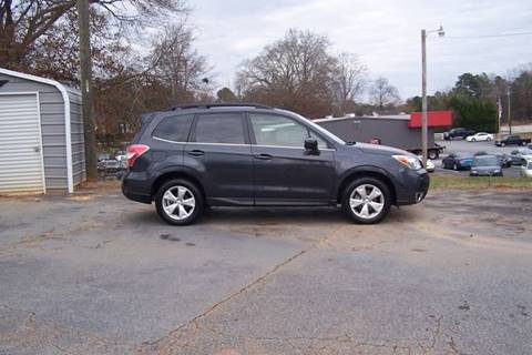 2015 Subaru Forester for sale in Union, SC