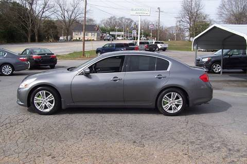 Used Infiniti G37 >> Used Infiniti G37 For Sale In South Carolina Carsforsale Com