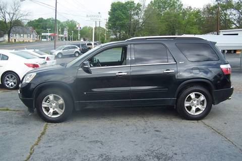 2009 GMC Acadia for sale at Blackwood's Auto Sales in Union SC