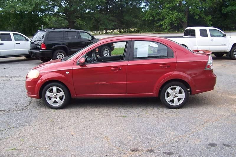 2007 Chevrolet Aveo LT 4dr Sedan