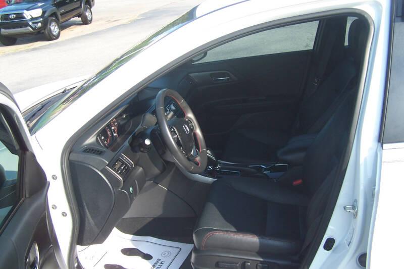 2017 Honda Accord Sport Special Edition 4dr Sedan CVT - Union SC