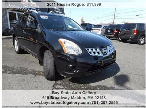 2011 Nissan Rogue for sale at Bay State Auto Gallery in Malden MA