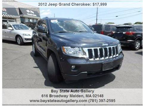 2012 Jeep Grand Cherokee for sale at Bay State Auto Gallery in Malden MA