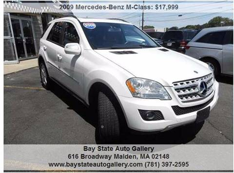 2009 Mercedes-Benz M-Class for sale at Bay State Auto Gallery in Malden MA