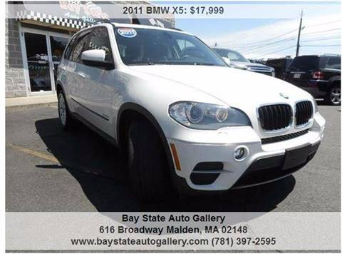 2011 BMW X5 for sale at Bay State Auto Gallery in Malden MA