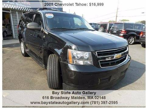 2008 Chevrolet Tahoe for sale at Bay State Auto Gallery in Malden MA