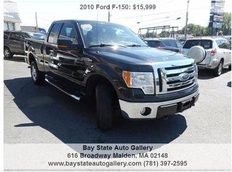 2010 Ford F-150 for sale at Bay State Auto Gallery in Malden MA