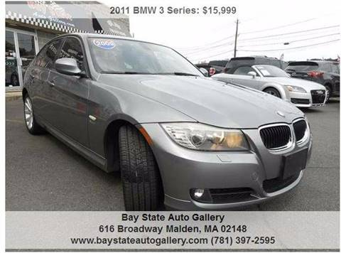 2011 BMW 3 Series for sale at Bay State Auto Gallery in Malden MA