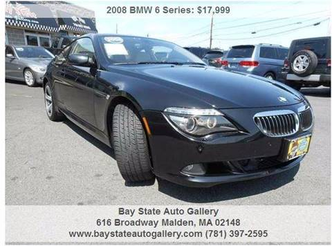 2008 BMW 6 Series for sale at Bay State Auto Gallery in Malden MA
