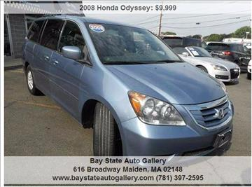 2008 Honda Odyssey for sale at Bay State Auto Gallery in Malden MA