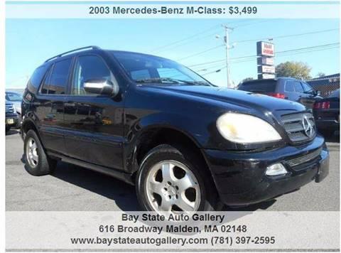 2003 Mercedes-Benz M-Class for sale in Malden, MA