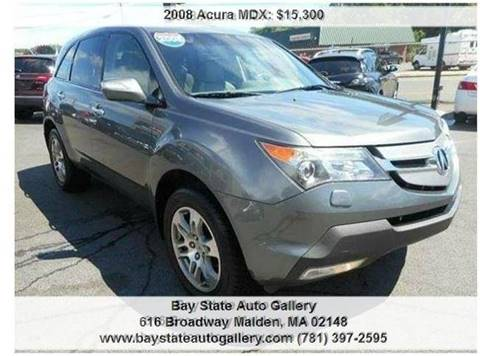 2008 Acura MDX for sale at Bay State Auto Gallery in Malden MA