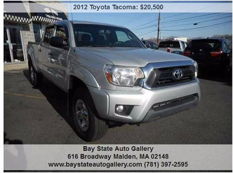 2012 Toyota Tacoma for sale at Bay State Auto Gallery in Malden MA