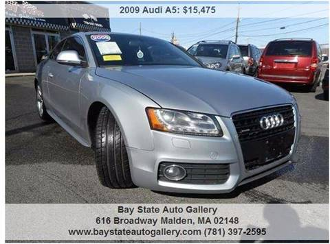 2009 Audi A5 for sale at Bay State Auto Gallery in Malden MA