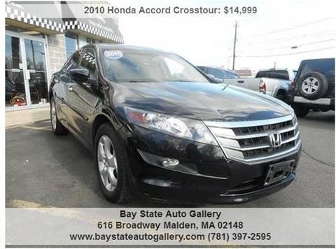 2010 Honda Accord Crosstour for sale at Bay State Auto Gallery in Malden MA
