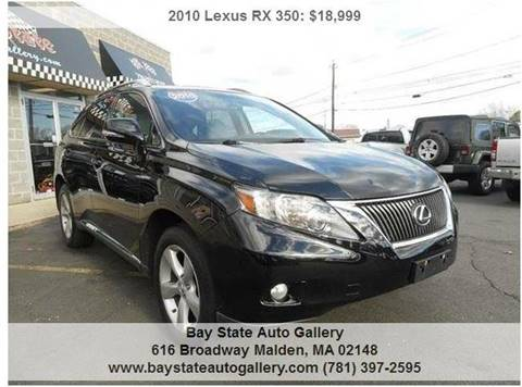 2010 Lexus RX 350 for sale at Bay State Auto Gallery in Malden MA