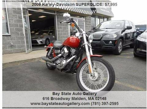 2009 Harley-Davidson SUPERGLIDE for sale at Bay State Auto Gallery in Malden MA