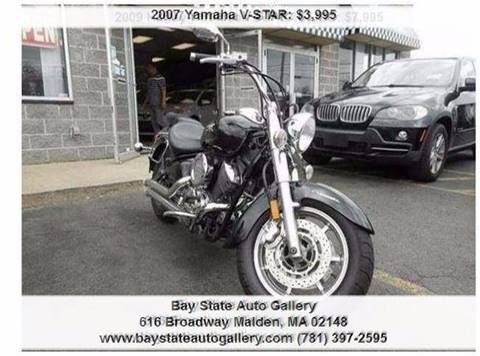 2007 Yamaha V-Star for sale at Bay State Auto Gallery in Malden MA