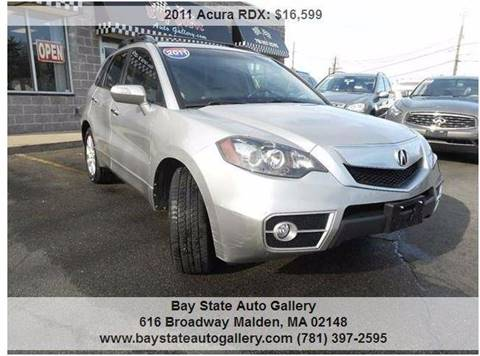2011 Acura RDX for sale at Bay State Auto Gallery in Malden MA