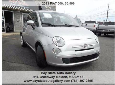2013 FIAT 500 for sale at Bay State Auto Gallery in Malden MA