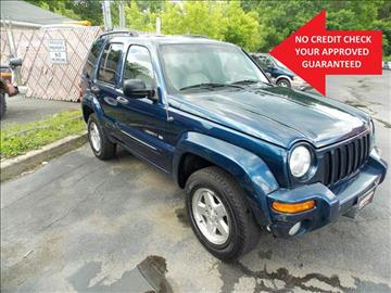 2002 Jeep Liberty for sale in Newton, NJ