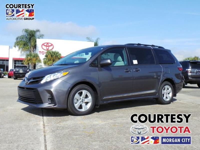 2018 Toyota Sienna For Sale At Courtesy South In Morgan City LA