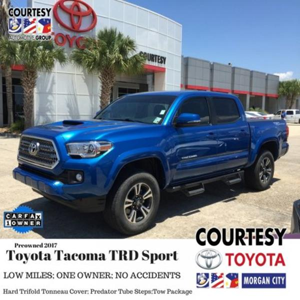 Exceptional 2017 Toyota Tacoma For Sale At Courtesy South In Morgan City LA