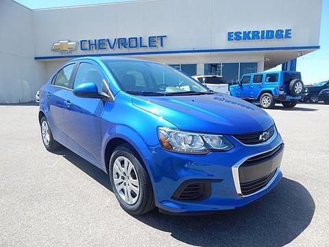 2017 Chevrolet Sonic for sale in Guthrie OK