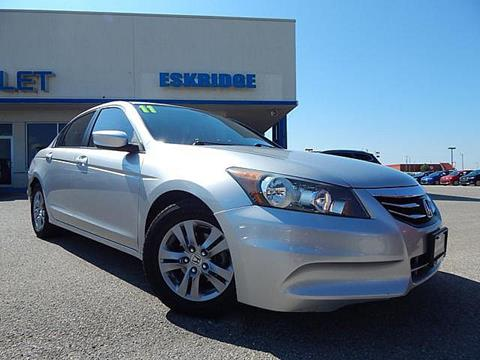 2011 Honda Accord for sale in Guthrie OK