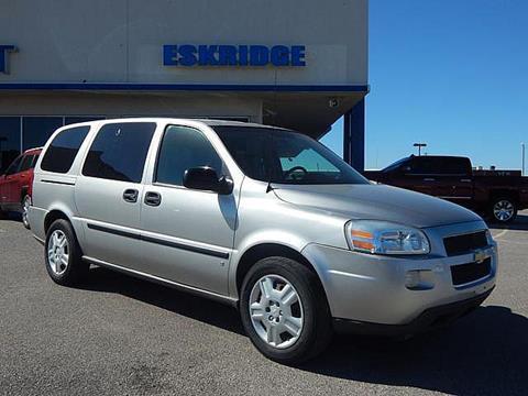 2008 Chevrolet Uplander for sale in Guthrie OK