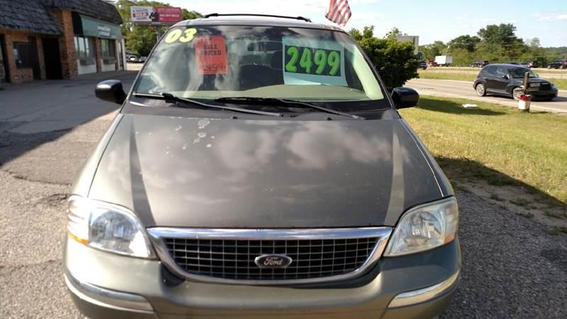 2003 Ford Windstar SE 4dr Mini-Van - Hartland MI