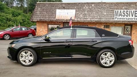 2014 Chevrolet Impala LS for sale at Kenny's Korner in Hartland MI