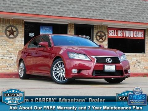 2013 Lexus GS 350 for sale in Garland, TX