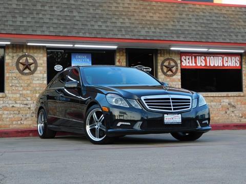 2011 Mercedes-Benz E-Class for sale in Garland, TX