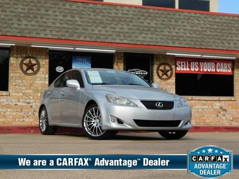 2007 Lexus IS 350 for sale in Garland, TX