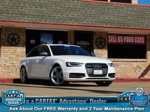 2013 Audi S4 for sale in Garland, TX