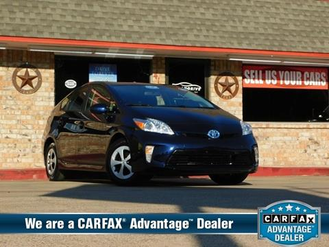 2015 Toyota Prius for sale in Garland, TX